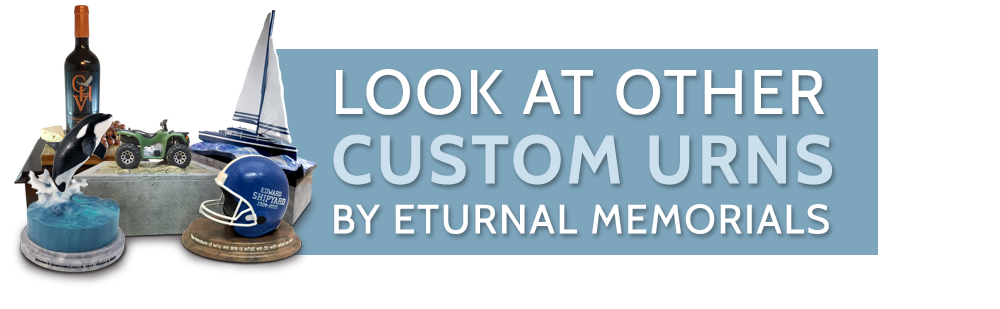 3D Cremation Urns by Eturnal Memorials